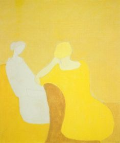 "Milton Avery American 1883 - 1966 ""Interlude 1960"""