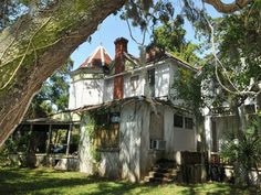 """This old Wells home known as """"Green Gables,"""" 1501 S.Harbor City Blvd., may go down in history. Melbourne, FL."""