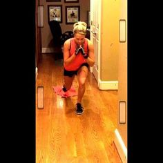 Carrie Underwood @carrieunderwood Instagram photos | Websta I tried these leg exercises -- you can really feel the burn!
