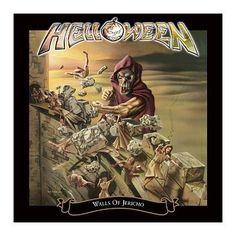 """L'album degli #Helloween intitolato """"Walls of Jericho"""" in versione estesa in confezione Deluxe. Il secondo CD contiene 7 bonus track."""