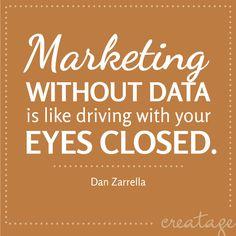 Zonder een doelgroep of klantenbestand, kan je reclame maken wat je wil. Maar niemand die het ziet of weet waar het voor bedoeld is.