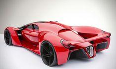 Designer cria conceito de Ferrari futurista - carros - Jornal do Carro                                                                                                                                                                                 Mais