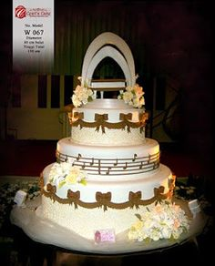 Ladurée Ivory Wedding Cake See Picture Of Topper For Close Up Creative Cakery Pinterest And