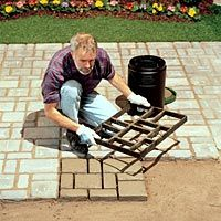 Garden DIY path & patio stones (mold)