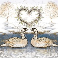 TW65 - Canadian Geese greeting card