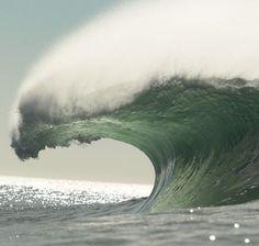 Mavericks, heavy waves!