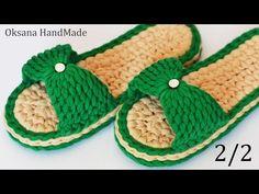 Learn to Crochet Flip-Flops - Design Peak Crochet Slipper Pattern, Crochet Shoes, Crochet Slippers, Crochet Patterns, Crochet Designs, Tunisian Crochet, Learn To Crochet, Crochet Stitches, Crochet Hook Set