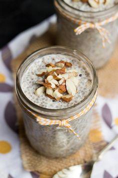 Vanilla Almond Overnight Quinoa - gluten-free, vegan and sugar-free!