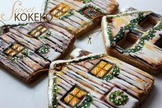Galletas Navidad 2014 - Casas en Navidad Christmas Cookies 2014 - Houses on Christmas http://www.sweetkokeko.com
