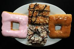 Caramel Apple Donut | ... donuts: pink frosted, butter crunch, coconut chocolate, and caramel