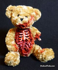 Zombie Teddy Bears Won't Eat Your Brains in the Night ... Hopefully
