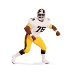 "NFL Pittsburg Steelers Joe ""Mean Joe"" Greene #75  Price:  $17.95  Available:  July 2015"