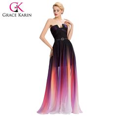 Long Evening Dresses Backless vestido formal robe de soiree Chiffon Colorful $80.14 => Save up to 60% and Free Shipping => Order Now! #fashion #woman #shop #diy www.weddress.net/...