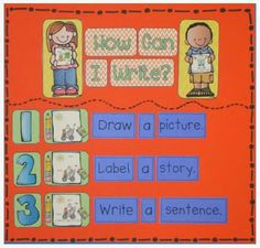 Chalk Talk: A Kindergarten Blog: Daily Five: Work on Writing.  This post tells how the teacher works on writing in the Daily Five.  :)