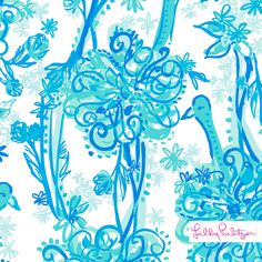 Lilly Pulitzer Back It Up Print
