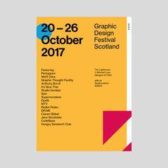 Sei dabei: Politische Corporate Identity für das Graphic Design Festival Scotland / PAGE online