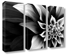 Extra large abstract black white flower canvas wall art multi decor google image result for httpflowercanvasprintsshopimagesproducts mightylinksfo