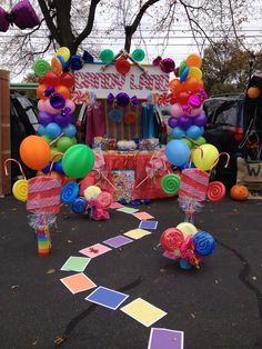My first trunk or treat creation