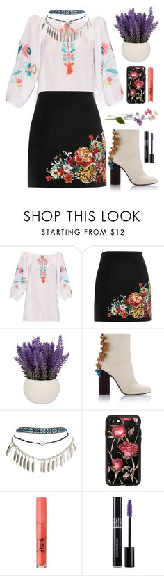 """""""136"""" by erohina-d ❤ liked on Polyvore featuring beauty, Juliet Dunn, River Island, Wet Seal, Casetify, Too Faced Cosmetics and Christian Dior"""