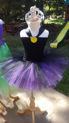 Ursula the sea witch from the Little mermaid costume, Ursula tutu dress!! Halloween costume,sea witch tutu dress, ursula costume