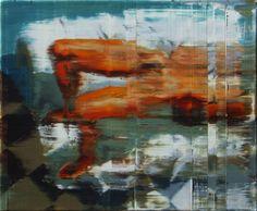 Nu sobre sofá branco. 50 cm 61 cm. óleo sobre tela. Taigo Meireles. 2011.
