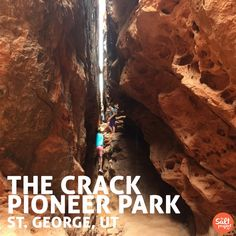 The Crack | Pioneer Park | St. George | Roadtrippin' | The Salt Project | Things to do in Utah with kids | Southern Utah