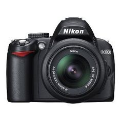 Nikon D3000 10.2MP Digital SLR Camera with 18-55mm f/3.5-5.6G AF-S DX VR Nikkor Zoom Lens  http://www.wendo.it/photo?p=130