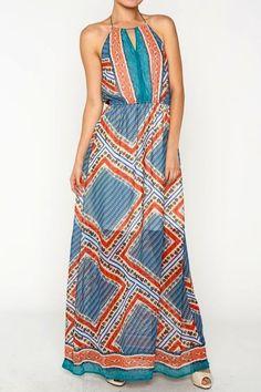 Girl In The Tropics Maxi Dress