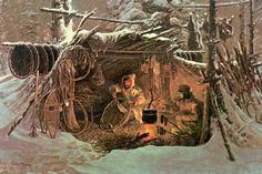 women of the Fur trade- crafts and clothing, mocassin pattern women of the Fur trade- crafts and clothing, mocassin pattern Mountain Man Clothing, Rocky Mountains, Le Castor, Mountain Man Rendezvous, Hunting Art, Fur Trade, Cowboy Art, Great Paintings, Historical Art