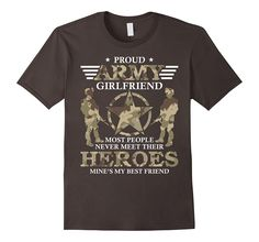 Proud Army Girlfriend Shirt Memorial Day T Shirt - Hero Tees