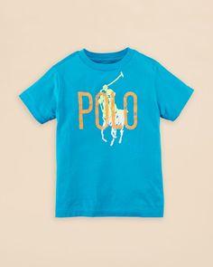 Ralph Lauren Childrenswear Boys' Polo Graphic Tee - Sizes 2-7