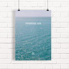 Stressfreie Zone. Meer. XXL Poster >>