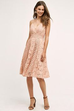 Champagne and Strawberry Astrid Dress