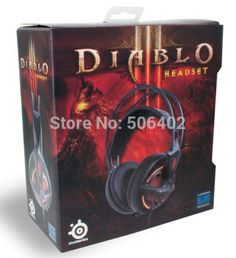 Product information:   • Closed ear headphones   • 50mm driver units   • Retractable microphone system, and in-line volume and mute controls with a USB connection   • Lightweight suspension construction   • Crystal clear high, low and mid-tones   • ON/OFF Diablo III-themed, Illumination options   • Optimized soundscape specific for Diablo gameplay.
