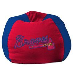 MLB Bean Bag Chair MLB Team: Atlanta Braves - http://delanico.com/bean-bag-chairs/mlb-bean-bag-chair-mlb-team-atlanta-braves-589096420/