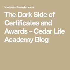 The Dark Side of Certificates and Awards Report Cards, High School Years, Dark Side, Elementary Schools, Certificate, The Darkest, Awards, Learning, Blog