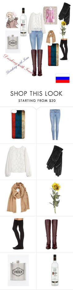 """""""Drinking with Ivan (Russia)"""" by rmstar01 ❤ liked on Polyvore featuring CellPowerCases, 7 For All Mankind, Giambattista Valli, ILI, Halogen, Pier 1 Imports, Commando and Tod's"""