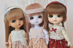 Lati dress sets (Model Lea, Haru, Sophie) | por Cilla Mimi Ng