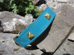 Turquoise Studded Collar