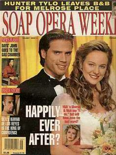 Soap Opera Weekly Feb 27 1996 Young Restless Happily Ever After - Hunter Tylo BB Genoa City Wisconsin, Chelsea And Adam, Joshua Morrow, Sharon Case, Young And The Restless, Types Of Music, Happily Ever After, The Fosters, Opera