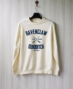 Ravenclaw Quidditch Harry Potter Shirt Sweatshirt Sweater by SaBuy... I'm not a seeker but it's cute.