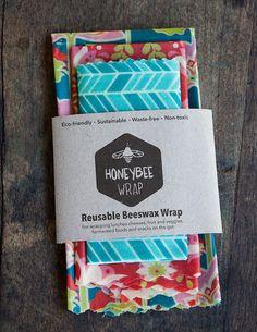 Reusable Honeybee Packaging : Alternative to Plastic Wrap