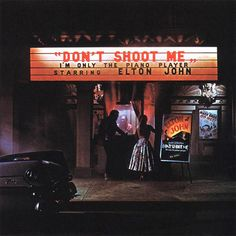 USED VINYL RECORD 12 inch 33 rpm vinyl LP Don't Shoot Me I'm Only the Piano Player is the sixth studio album by British singer-songwriter Elton John, released in 1973, MCA Records (MCA-2100) - gatefol