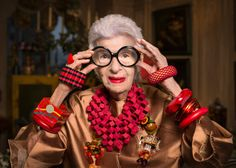 """More is more and less is a bore."" - Iris Apfel #quotes"