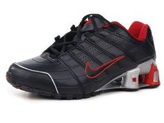 Chaussures Nike Shox NZ Noir/ Rouge [nike_12090] - €45.85 : Nike Chaussure Pas Cher,Nike Blazer and Timerland  http://www.facebook.com/pages/Chaussures-nike-originaux/376807589058057