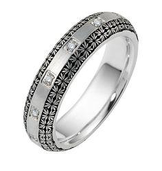 Platinum Venetian Lace Ring @XennoxDiamonds www.xennoxdiamonds.com.au