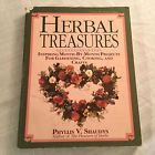 Herbal Treasures Paperback Book Phyllis Shaudy Gardening Cooking Craft Projects