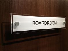 #boardroom Door Sign - dress up your doors around the office http://www.de-signage.com/Officesigns.php