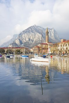 Panorama -Lecco, Lake Como