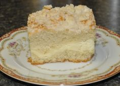 Recipe For Cream Cheese Coffee Cake with Crumble Topping | Bed and Breakfast Inns | BBOnline.com